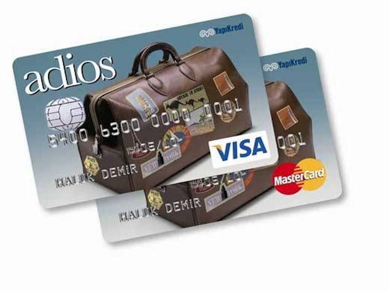 Yapı Kredi Bankası - Adios Card