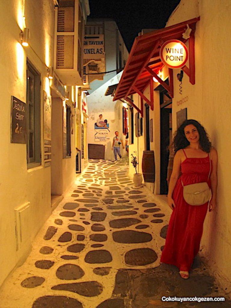Yunan Adaları - Mikanos