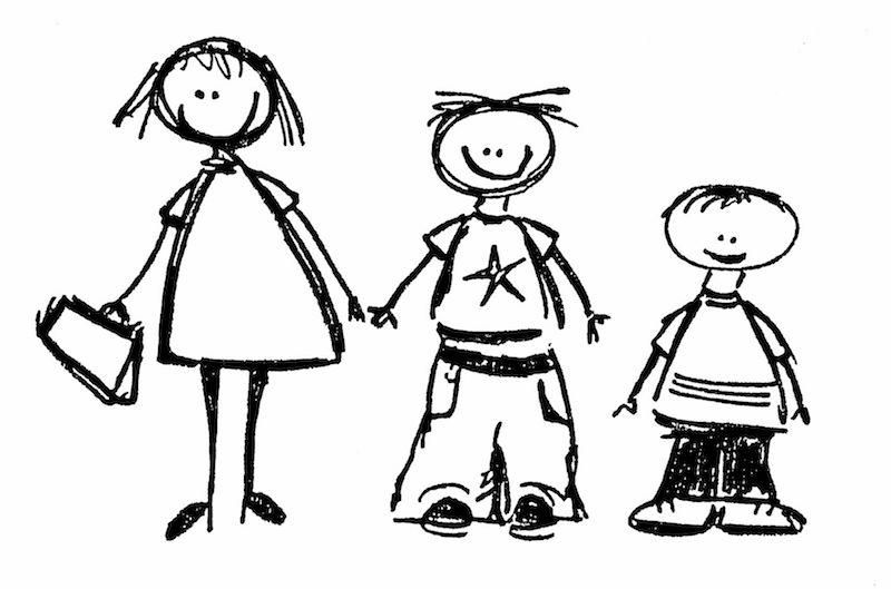 Fas'ta Üç Çocuğuyla Seyahat Eden Anne