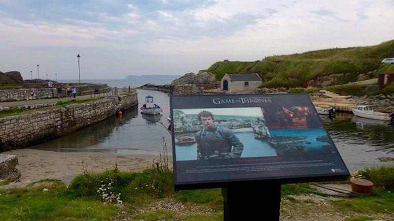 İrlanda - Ballintoy Limanı