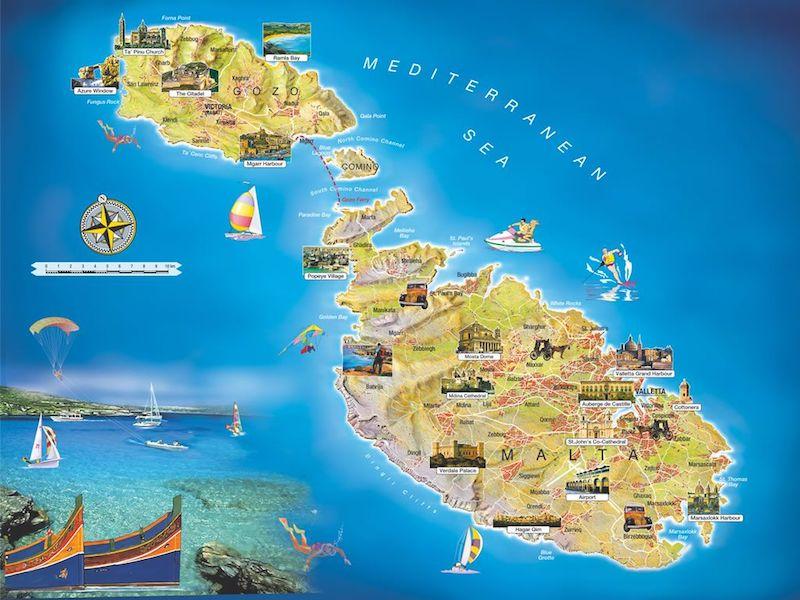 Malta Haritası