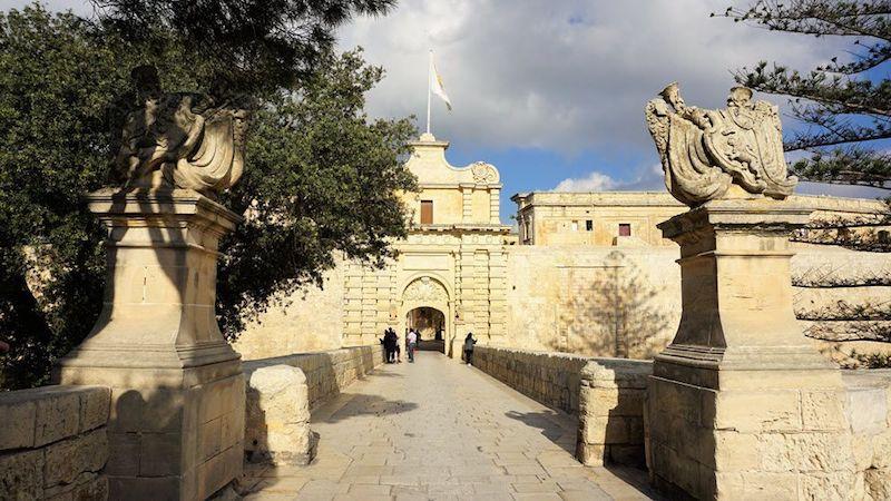 Mdina Eski Şehir Giriş Kapısı
