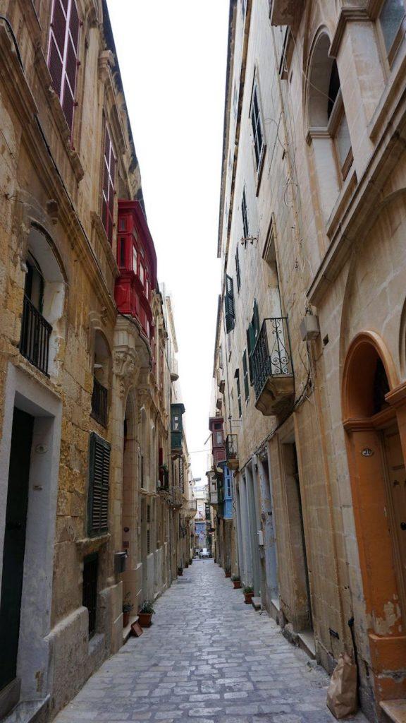 Valetta Sokakları
