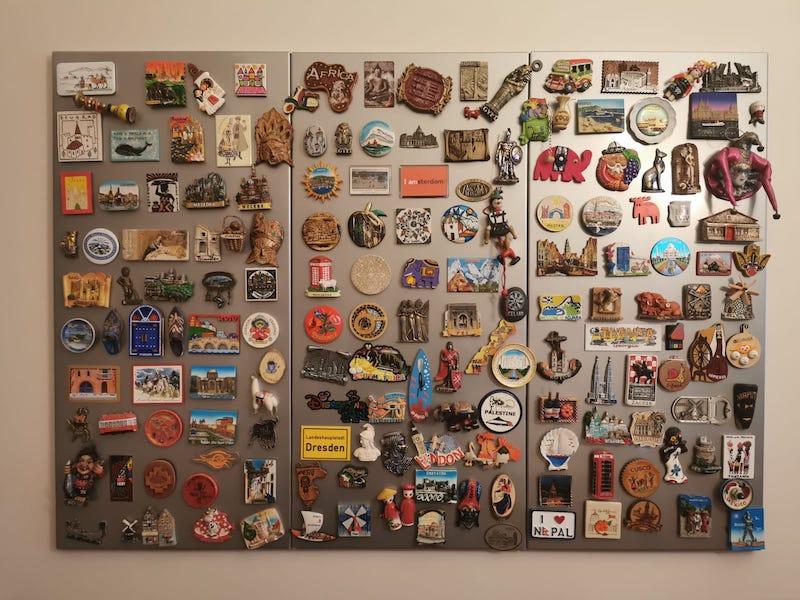 Seyahat hediyeleri - magnet