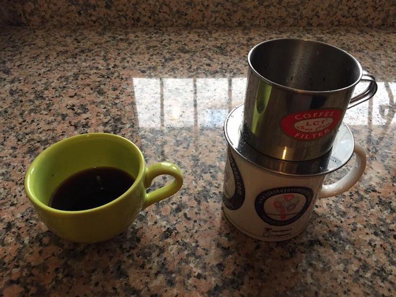 Vietnam Kahvesi Hazırlanışı