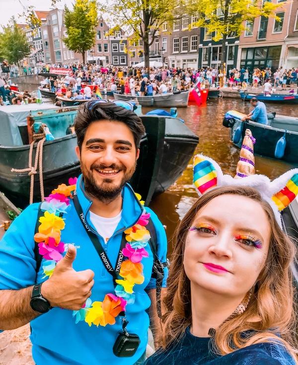 Arzu ve Aydın Elgezen, Amsterdam, Hollanda