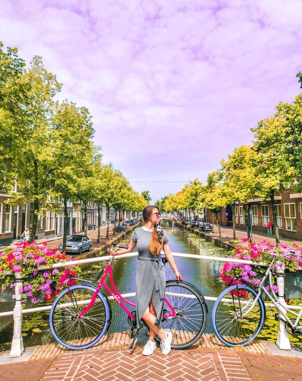 Arzu ve Aydın Elgezen, Delft, Hollanda