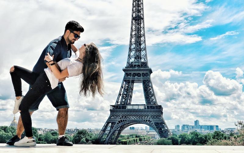 Arzu ve Aydın Elgezen, Paris, Fransa