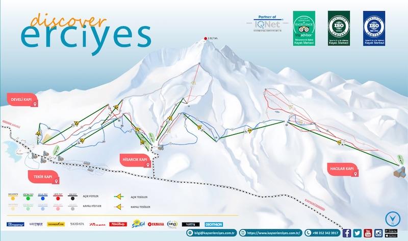 Erciyes Kayak Merkezi Hakkında