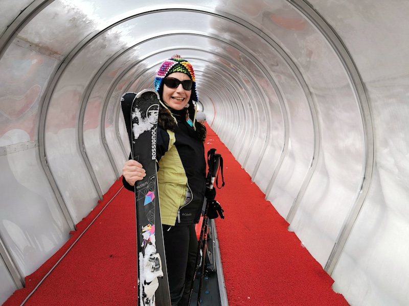 Erciyes Kayak Merkezi - Yürüyen Bant