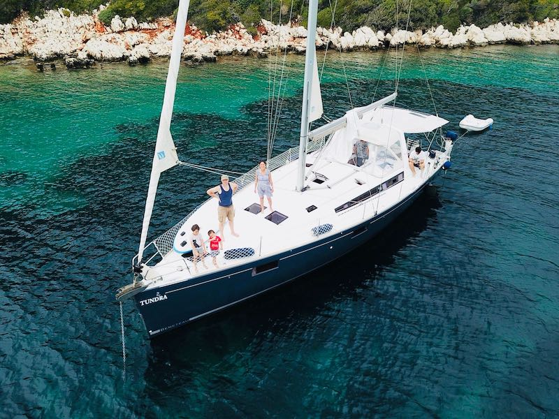 Kaş'ta Tekne Turu - Kaptan Ergun Yelkenli Tur Teknesi