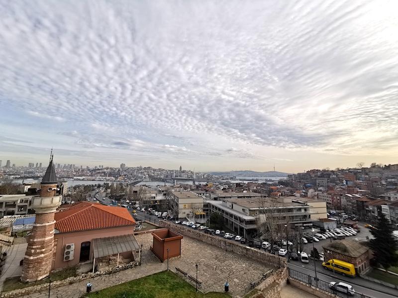 Molla Zeyrek Camii Kafeteryası Manzarası