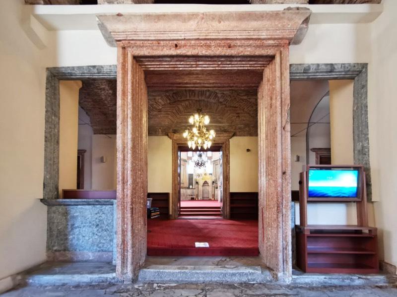 Molla Zeyrek Camii Mermer Kapıları