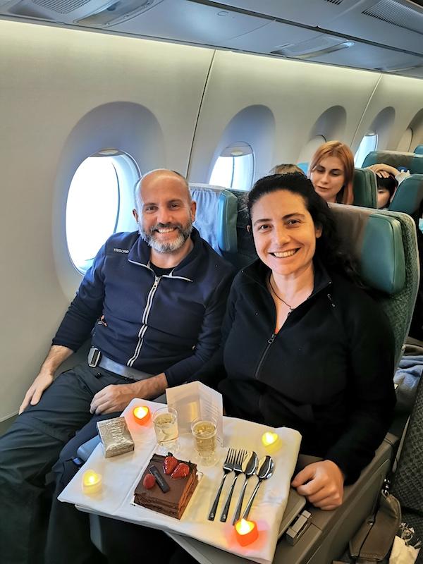 Singapur Airlines Ekonomi Sınıfı - İkramlar