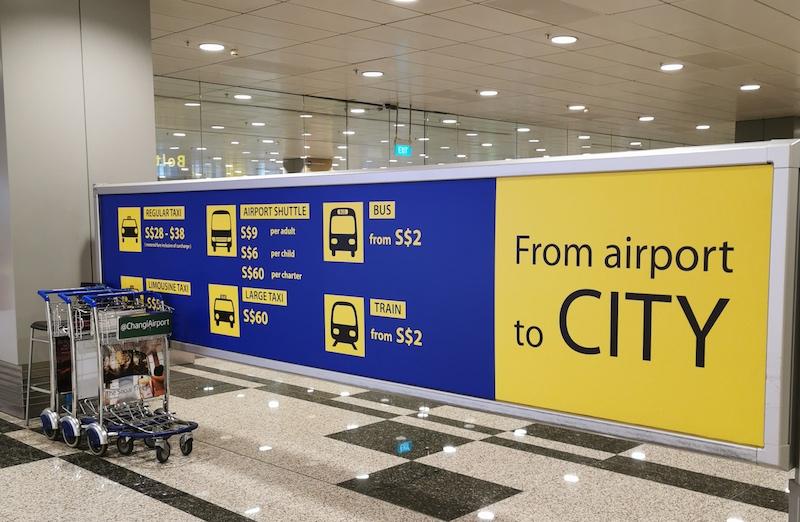 Changi Havalimanı'na Ulaşım
