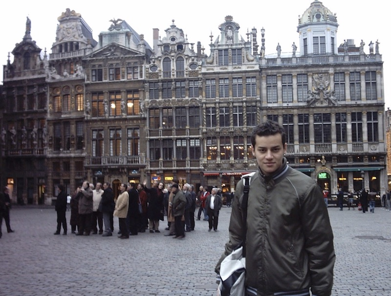İlk seyahat - Belçika