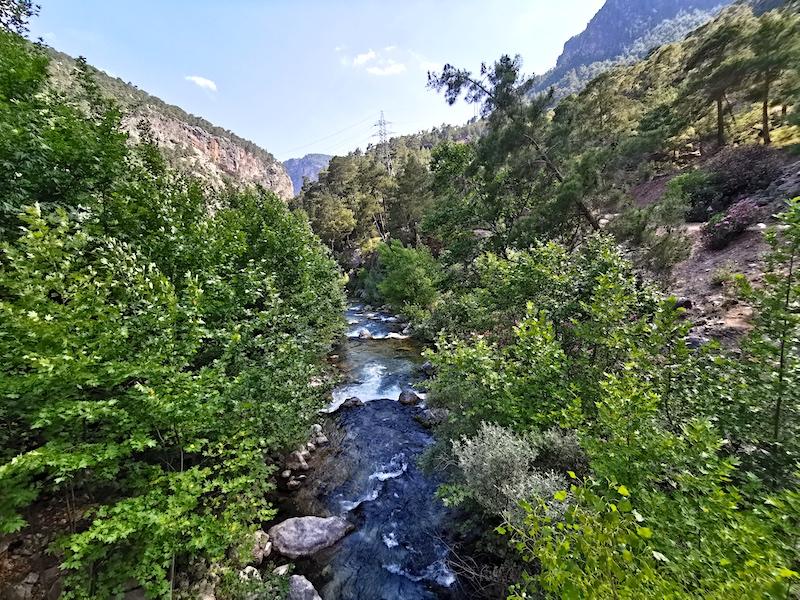 Karanlıkdere Kanyonu - HES 1'in olduğu yer
