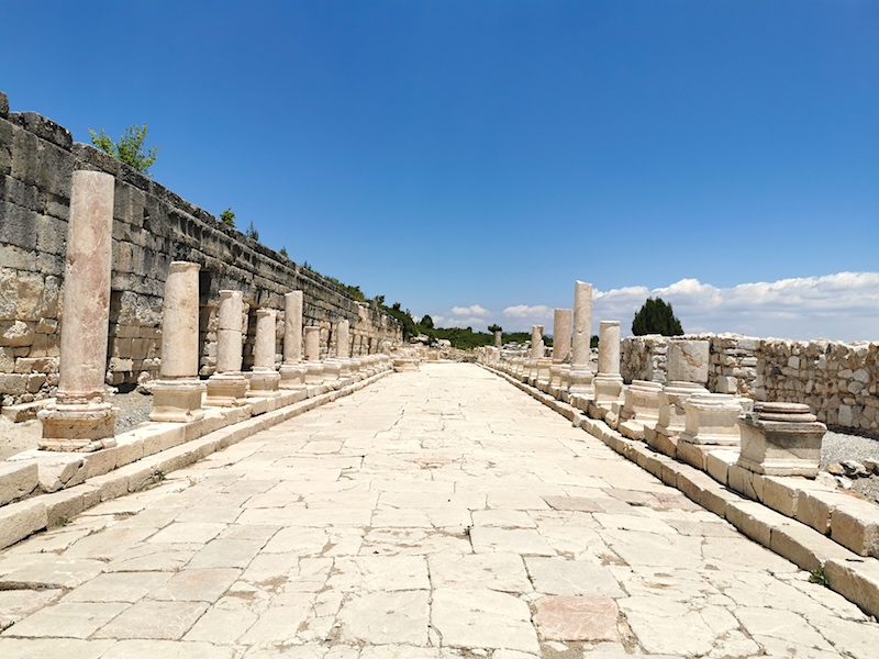 Kibyra'nın pazaryeri- agorası