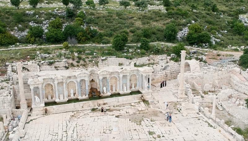 Sagalasos Antik Kenti - Ağlasun İlçesi