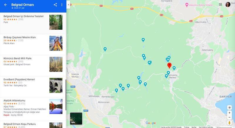 Belgrad Ormanı Nerede, Nasıl Gidilir?