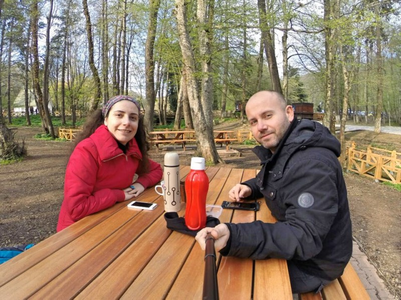 Belgrad Ormanı'nda Kahvaltı