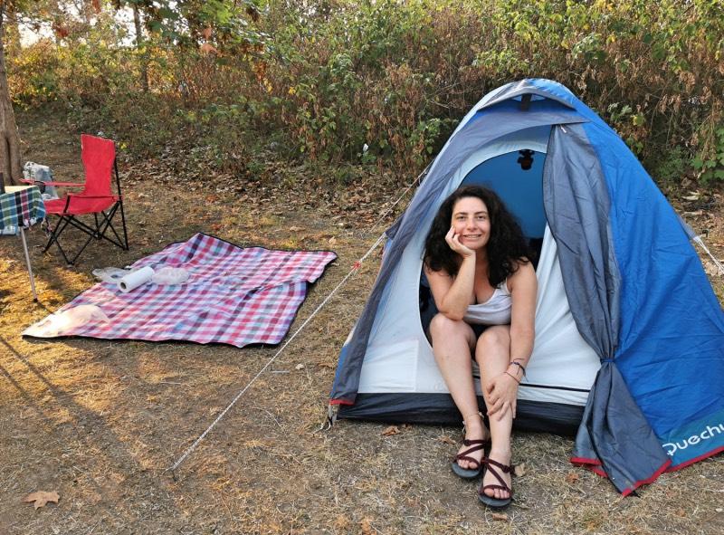 Doğa ile İç İçe Çadır Kampı Yapmak