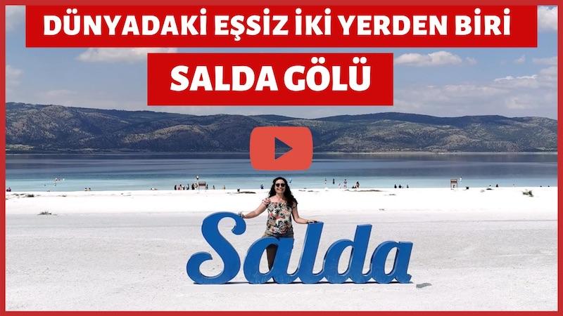 Salda Gölü Videosu