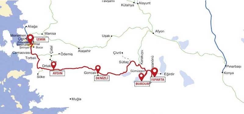 Burdur'a tren ile nasıl gidilir?