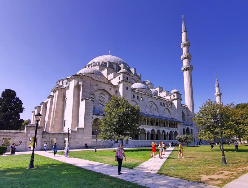 Süleymaniye Cami ve Çevresi Gezi Rotası