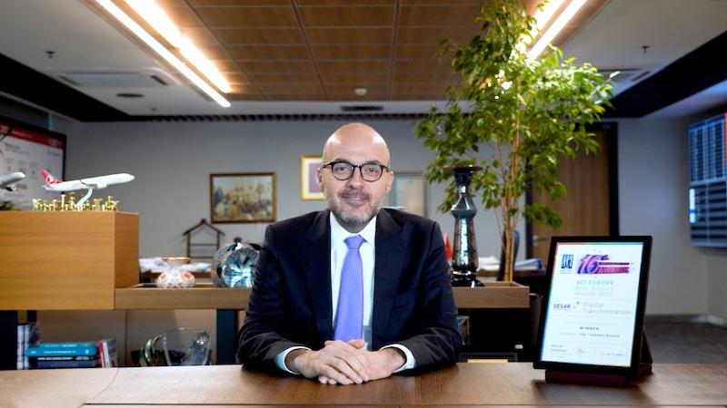 İstanbul Havalimanı İşletmesi İcra Kurulu Başkanı ve Genel Müdürü Kadri Samsunlu'