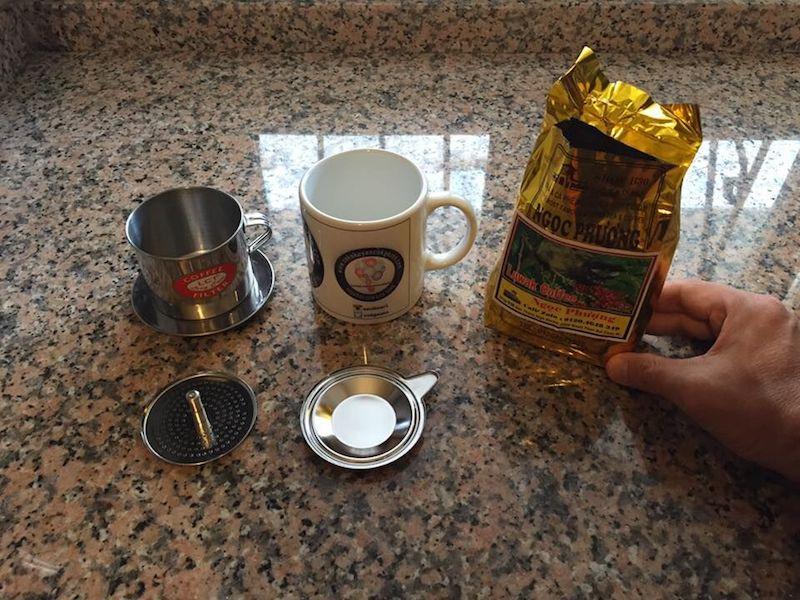 Vietnam Kahvesi demleme kiti