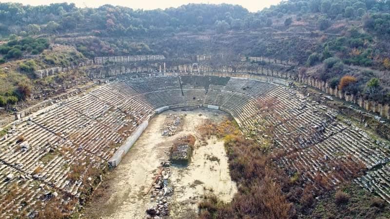 Magnesia Antik Kenti Stadyumu
