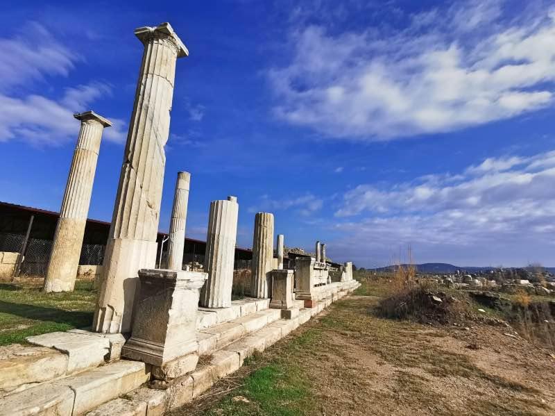 Magnesia Antik Kenti Tarihçesi