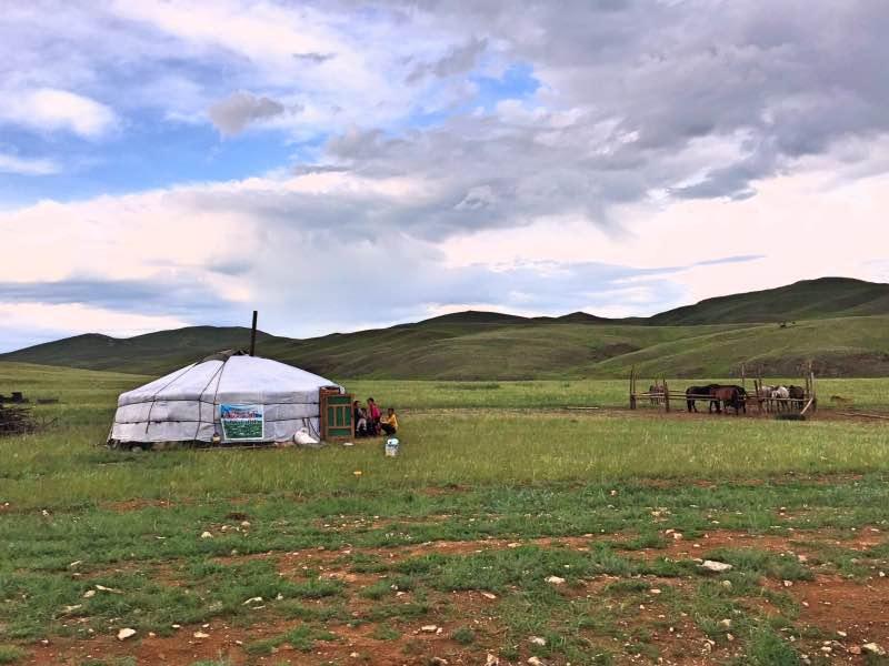 Moğolistan'da Göçebe Yaşam