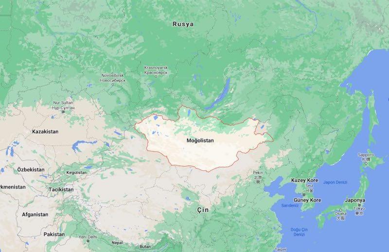 Moğolistan Nerede?
