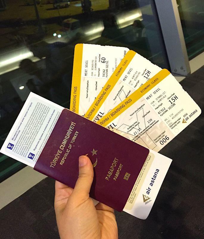 Air Astana ile Moğolistan Uçuşu