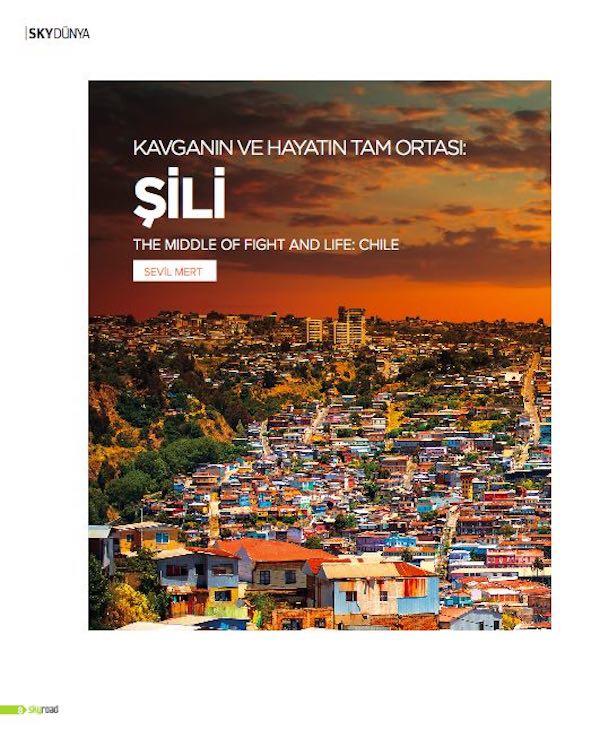Skyroad Dergisi - Şili Yazısı