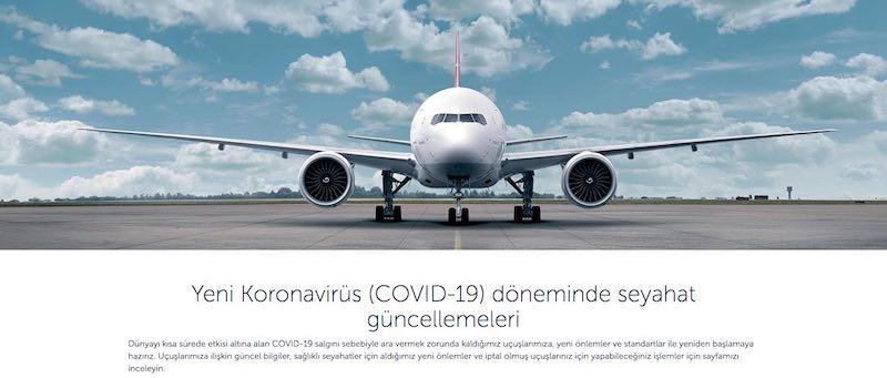 Türk Hava Yolları İnternet Sitesi