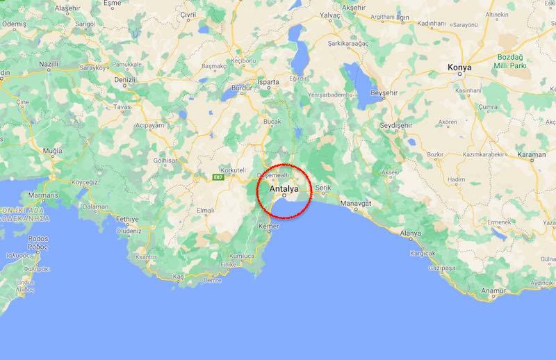 Antalya Nerede, Nasıl Gidilir?