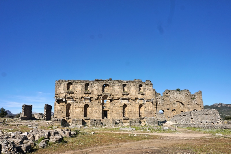 Aspendos Nymphaeum & Agorası