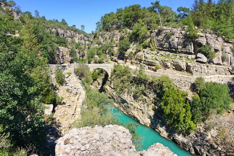 Köprülü Kanyon Milli Parkı - Oluk Köprüsü