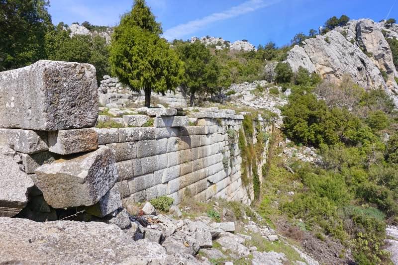 Termessos Şehir Drenaj Sistemi