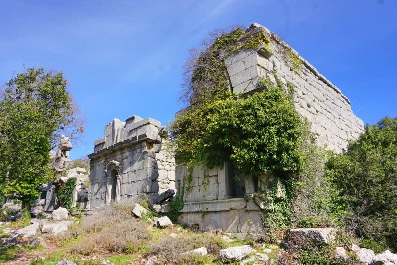 Termessos Hamam Kalıntıları