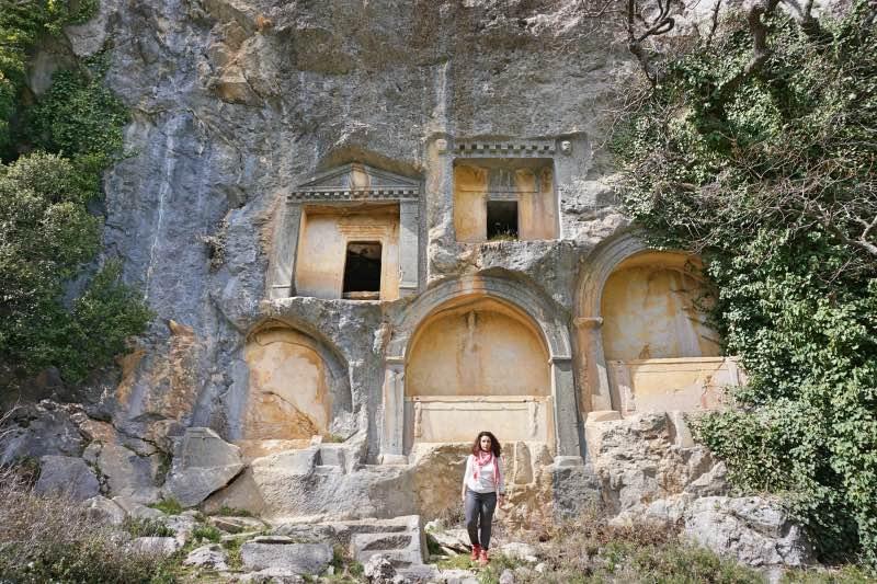 Termessos Kaya Mezarları