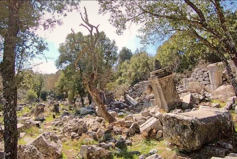 Termessos Sütunlu Cadde