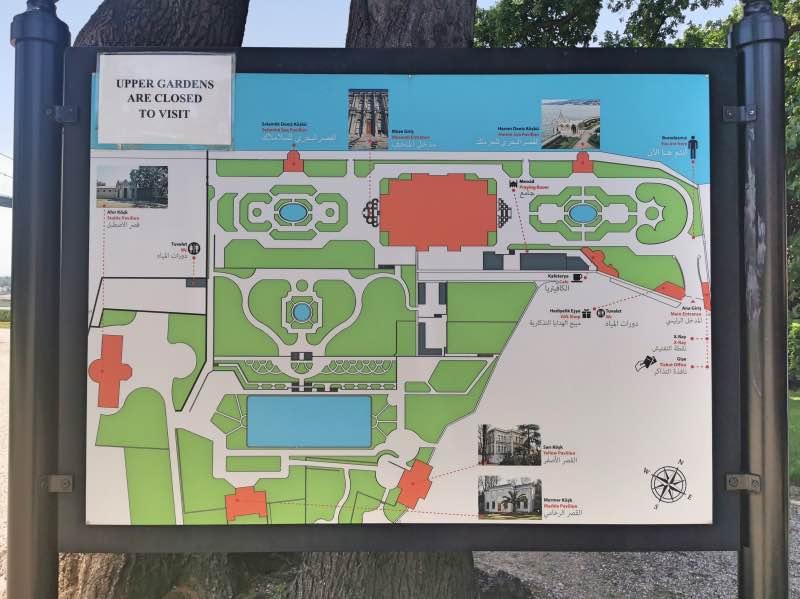 Beylerbeyi Sarayı Haritası