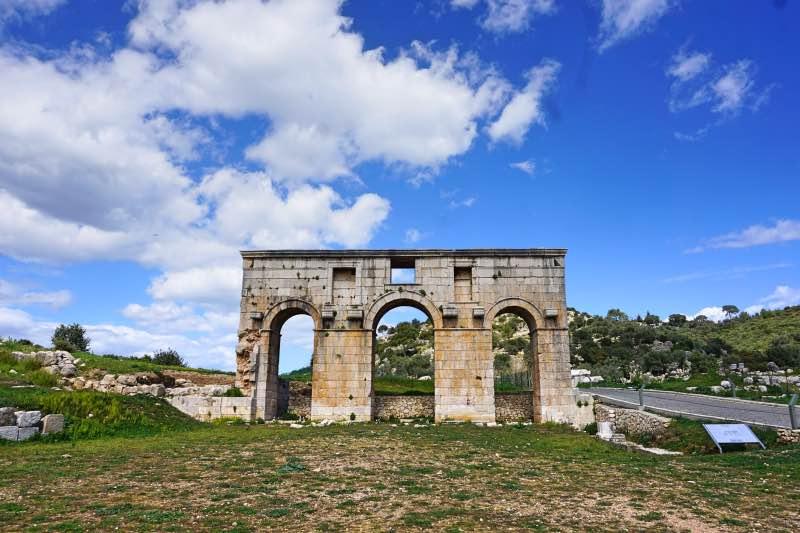 Patara Antik Kenti Giriş Kapısı