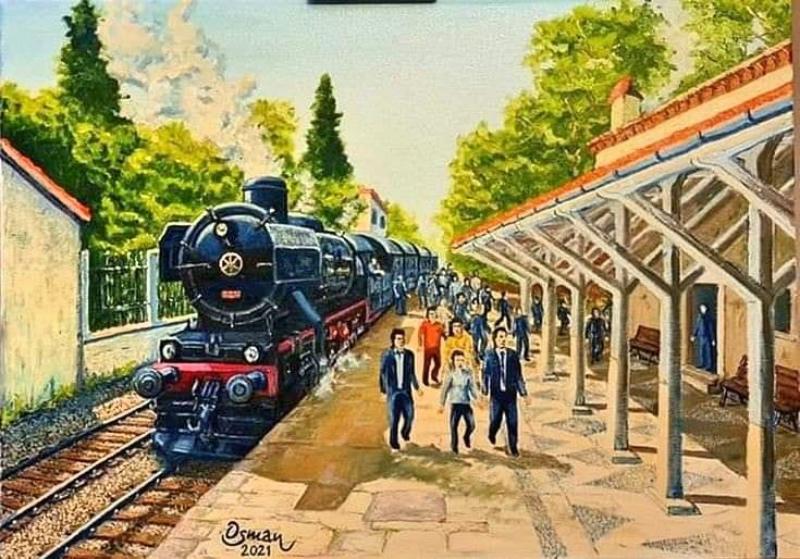 Buca Tren İstasyonu Eski Hali