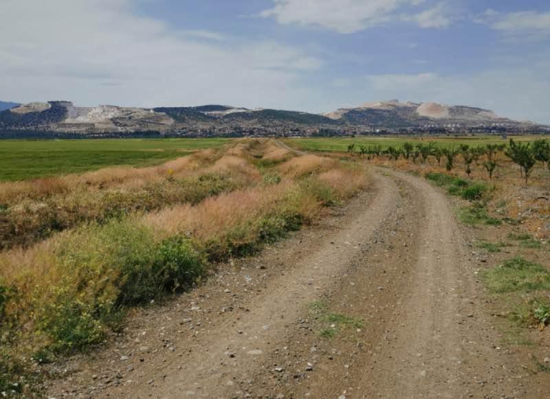 Karamanlı tepelerindeki mermer ocakları